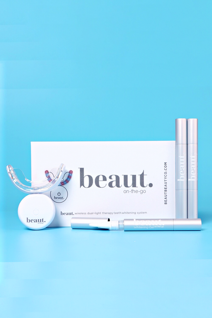 Dual-light Therapy Teeth Whitening System by beaut. - Melissa Jean Boutique