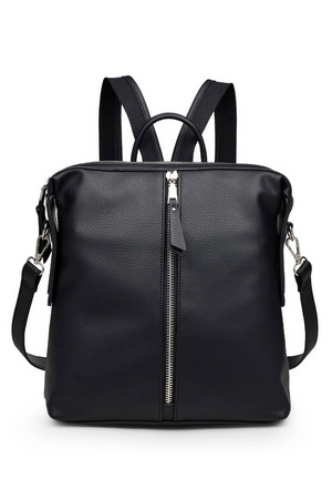 Kenzie Luxury Vegan Backpack with Strap