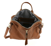Kenzie Luxury Vegan Backpack with Strap - Melissa Jean Boutique
