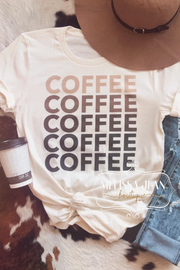 Fifty Shades of Coffee Tee