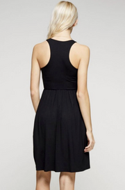 Kate Dress in Black - Melissa Jean Boutique