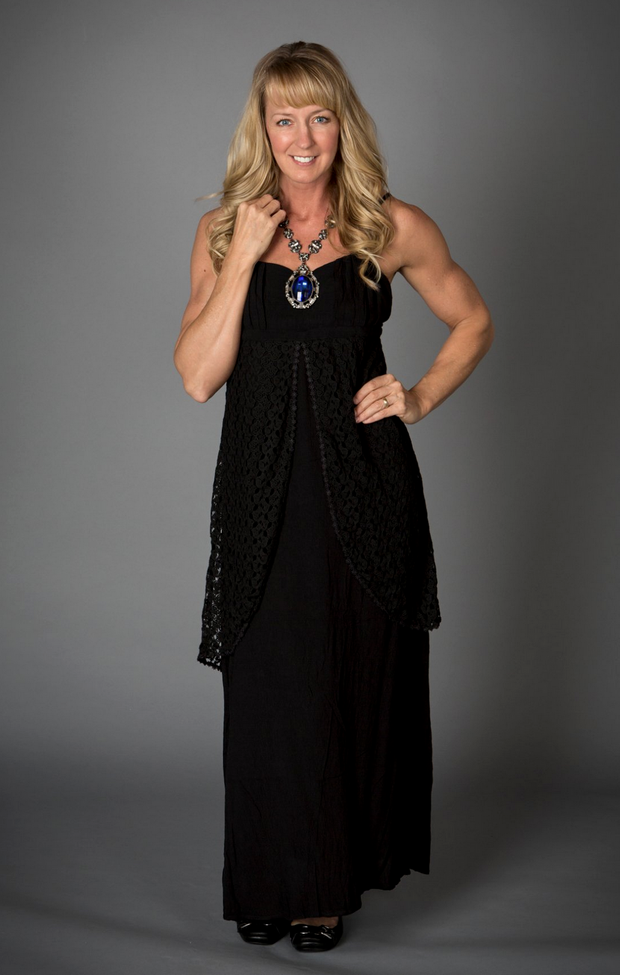 Black Crochet Maxi Dress - Melissa Jean Boutique