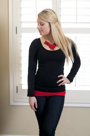 Seamless Black Long Sleeve