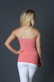 Seamless Long Pink Cami - Melissa Jean Boutique