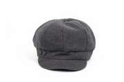 Newsboy Hat Grey - Melissa Jean Boutique