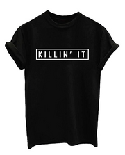 Killin't It Black Tee