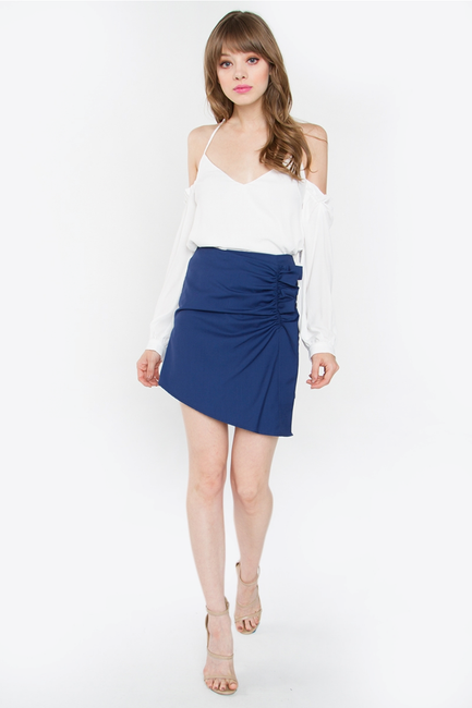 Selena Ruffle Mini Skirt - Melissa Jean Boutique