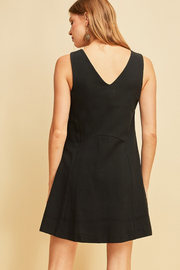 Jenny Princess Dress in Black - Melissa Jean Boutique