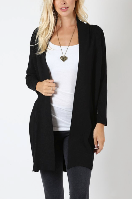 Sloan Cardigan in Black