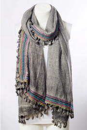 Bohemian Multi Color Scarf