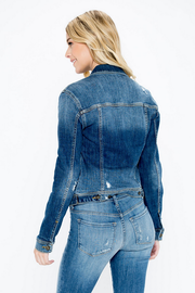 Cassidy Denim Jacket - Melissa Jean Boutique