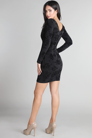 Maria Black Embellished Dress - Melissa Jean Boutique