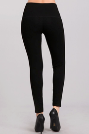 Black French Terry Leggings - Melissa Jean Boutique