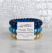 Hotline Hair Ties Beachy Metallic - Melissa Jean Boutique