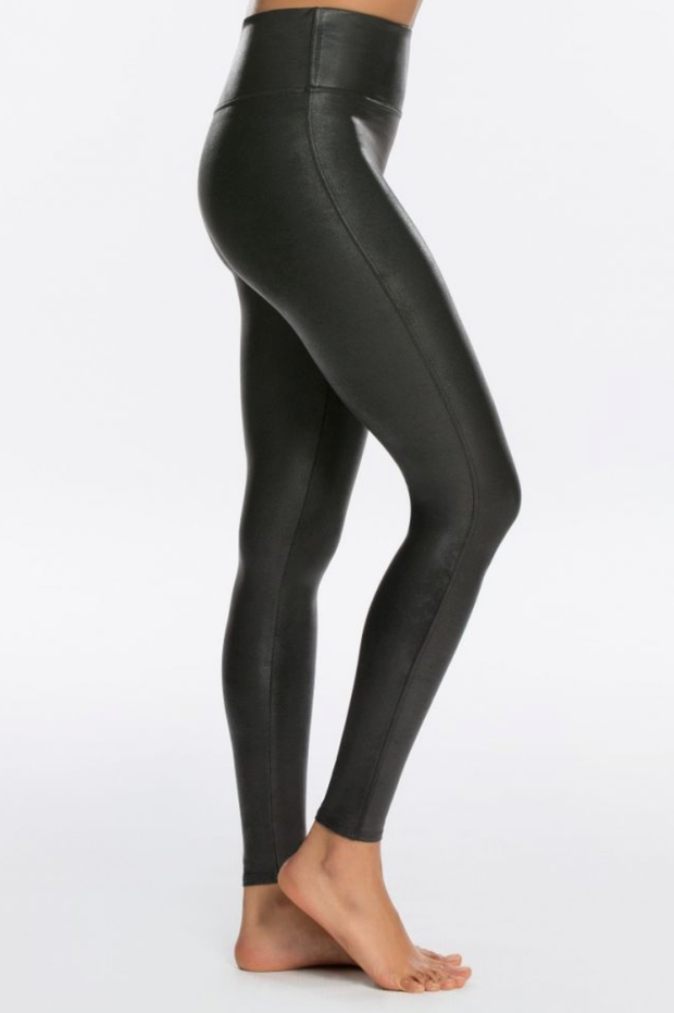 Spanx Black Faux Leather Leggings