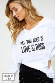 All You Need Is Love & Dogs - Melissa Jean Boutique