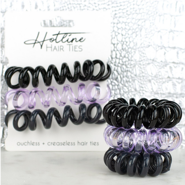 Hotline Hair Ties Galaxy XL Lavender Set - Melissa Jean Boutique