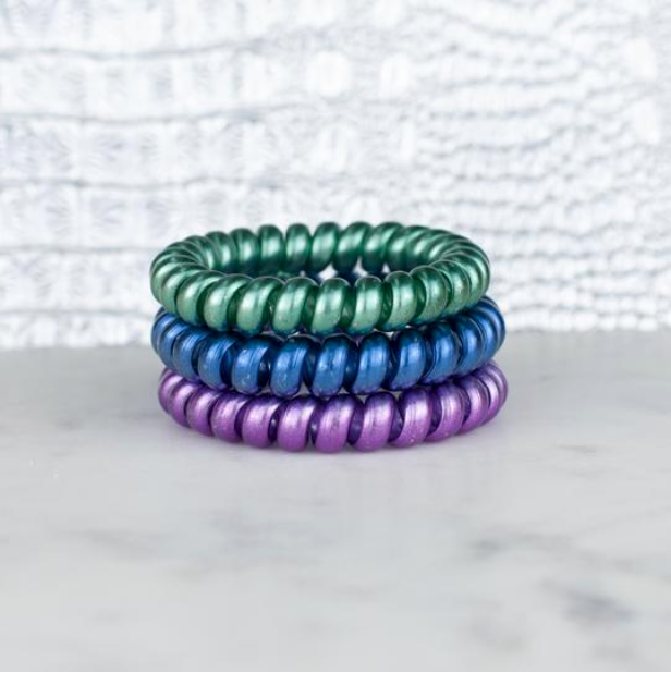 Gem Stone Luxe Collection Hotline Hair Ties - Melissa Jean Boutique