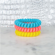 Hotline Hair Ties Pool Party Matte Set - Melissa Jean Boutique