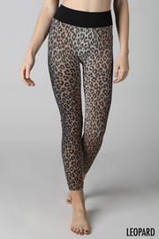 Ombre Leopard Leggings - Melissa Jean Boutique