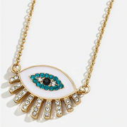 Eye See You Pendant Necklace - Melissa Jean Boutique