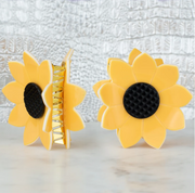 Sunflower Hair Clip - Melissa Jean Boutique
