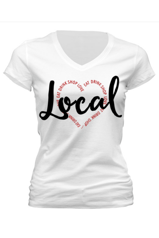 Love Local Tee *2 Colors!! - Melissa Jean Boutique