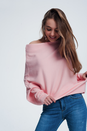 Dreamy Soft Pink Sweater - Melissa Jean Boutique