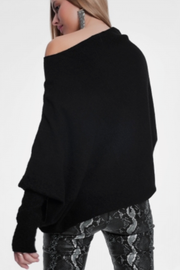Dreamy Soft Black Sweater - Melissa Jean Boutique