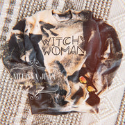 Witchy Woman Bleached Sweatshirt - Melissa Jean Boutique