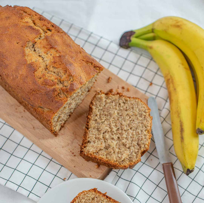 Old-Fashioned Activated Phenolics Banana Bread