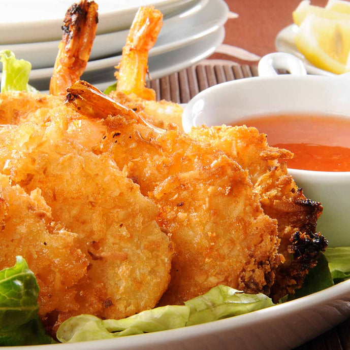 Fluffy Coconut Shrimp