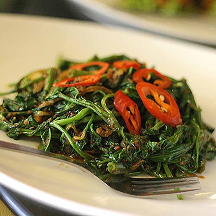 Kangkung Belacan/Morning Glory Stir Fry