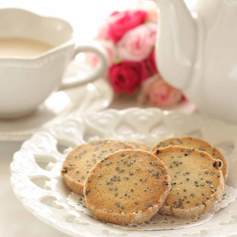 Black Sesame Cookies Recipe