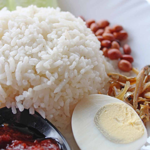 Nasi Lemak easy recipe