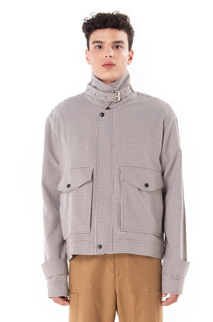 Houndstooth Beige Jacket