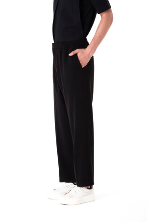 Super Black  Draw String Pants