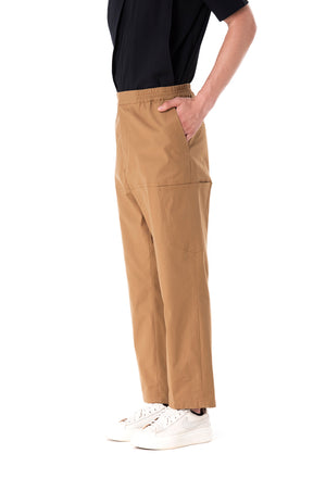Draw String Beige Pants
