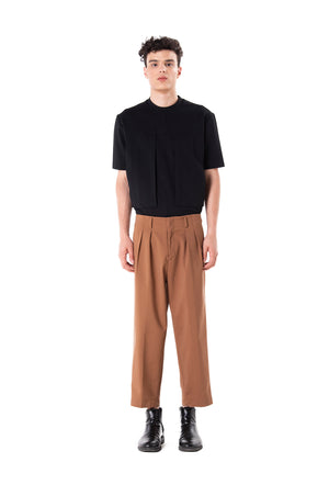 Waistbandless Camel Pants