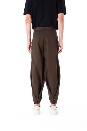 Two Way Pants Green Olive