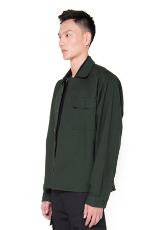 OVERSIZED GREEN OUTER