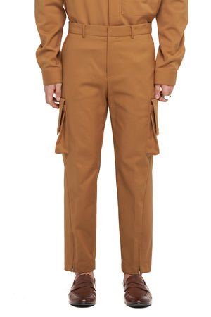Camel Pants with pockets