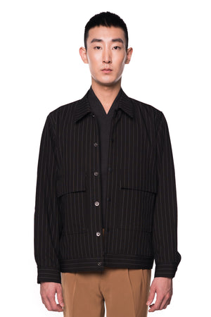 Black Stripped Jacket