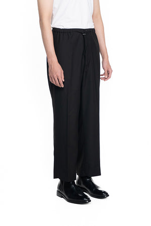 BLACK EASY PANTS