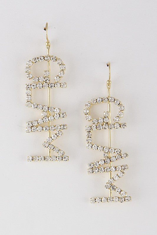 GlamQ Glamour Earrings