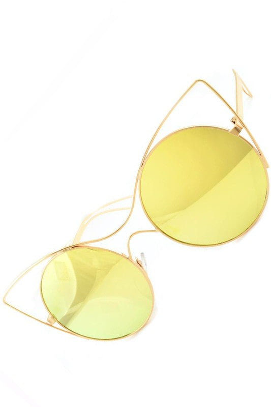 BombshellQ FashCat Shades-Yellow
