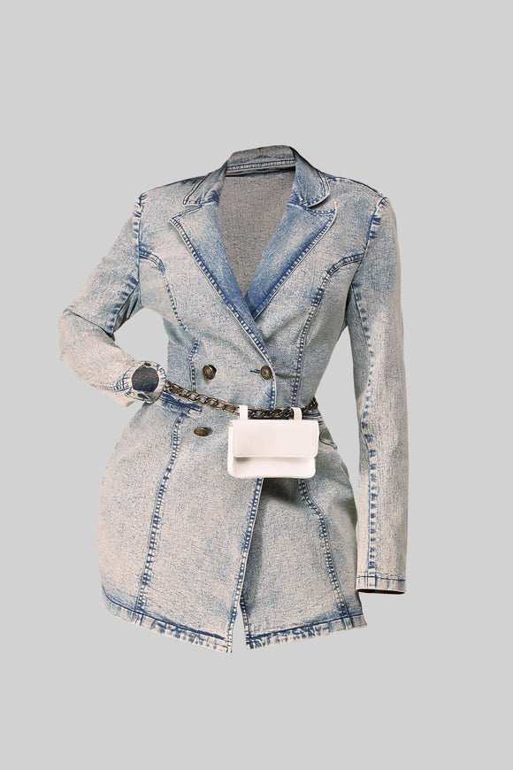 Denim Vintage Dress