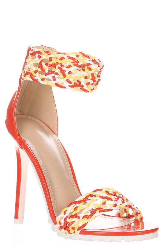 ClassicQ Ama Heels-Orange