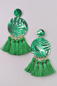 GlamQ Tanya Earrings