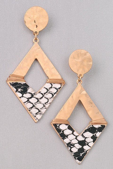 GlamQ Tara Earrings